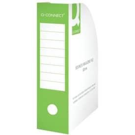 Stehsammler A4 80mm grün Q-CONNECT KF15845 Karton Produktbild