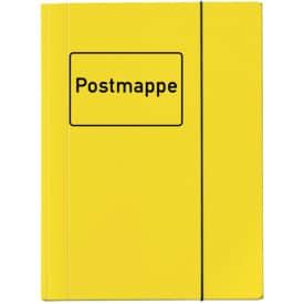Sammelmappe Postmappe A4 gelb VELOCOLOR 4442 319 mit Gummizug