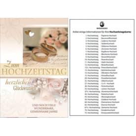 Hochzeitstagskarte 93-100300   Bild