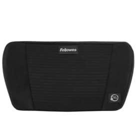 Rückenstütze Plush Touch schwarz FELLOWES 8026501 Produktbild Einzelbild 2 L