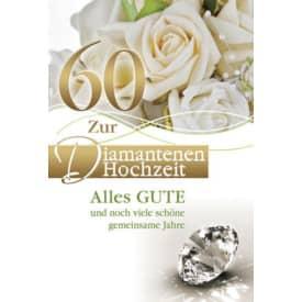 Diamantene Hochzeitskarte 73-509100   Bild