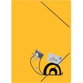 Sammelmappe Postmappe gelb RNK 4658 Schneckenpost