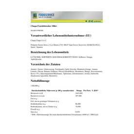 Süsswaren Lutscher Fruit CHUPA CHUPS 4142289 100ST