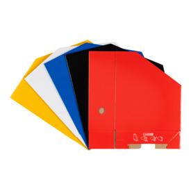 Stehsammler A4 uni breit weiß LANDRE 100420039 350000043 Produktbild Stammartikelabbildung L