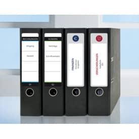 Ordneretikett 61x192mm weiß ZWECKFORM L4761-25 100ST Produktbild Anwendungsdarstellung L