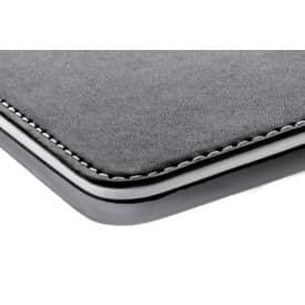 Mousepad Lederimitation schw/ws SIGEL SA105 eyestyle® Produktbild Detaildarstellung 2 L