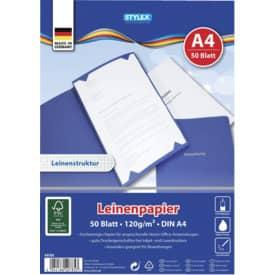 Leinen Papier A4 120g 50BL
