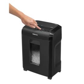 Aktenvernichter 10M schwarz FELLOWES FW4630601 Mikro-Partikel 2x12mm Produktbild Anwendungsdarstellung 2 L
