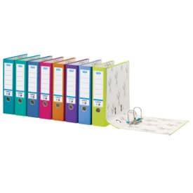 Ordner A4 8cm smart Pro türkis ELBA 100025943 10456TS Produktbild Stammartikelabbildung L
