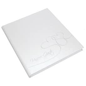 Gästebuch Hochzeit weiß GOLDBUCH 48004 23x25cm
