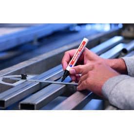 Lackmalstift hellblau EDDING 4-750010  2-4mm Produktbild Anwendungsdarstellung 1 L