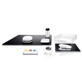Mousepad Lederimitation schw/ws SIGEL SA105 eyestyle® Produktbild Stammartikelabbildung 1 L