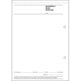 Spesennachweis A5 hoch, 50 Blatt SIGEL GB515