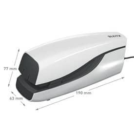 Elektrohefter 2mm weiß LEITZ 5533-10-01 NeXXt Produktbild Anwendungsdarstellung L