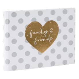 Gästebuch Hochzeit You & Me forever GOLDBUCH 47 051 29x23cm
