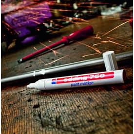 Lackmalstift hellblau EDDING 4-750010  2-4mm Produktbild Anwendungsdarstellung 2 L