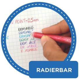 Tintenroller Frixion Ball 0,5mm blau PILOT BL-FR10-L 2258003 Produktbild Piktogramm 1 L