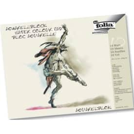 Aquarellblock 18 x 24cm FOLIA 8331 10 Bogen/200g