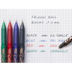 Tintenroller Frixion Ball 0,5mm blau PILOT BL-FR10-L 2258003 Produktbild Anwendungsdarstellung 3 L