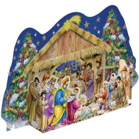 Adventkalender Krippe 935 35,5x26,5cm