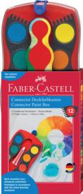 Farbkasten 12er Connector FABER CASTELL 125030