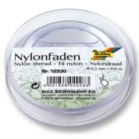 Nylonfaden auf Spule 100m FOLIA 12930  0,3mm