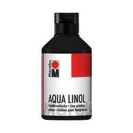 Linoldruckfarbe Aqua schwarz MARABU 1510 13 073 250ml