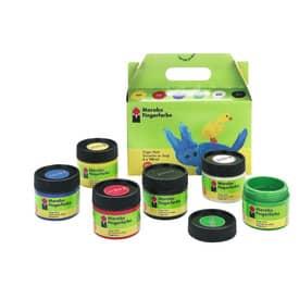 Fingerfarben-Set 6 Farben sort MARABU 0302 00 081