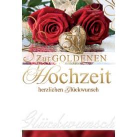 Goldhochzeitskarte 72-211900   Bild