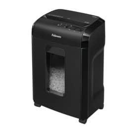Aktenvernichter 10M schwarz FELLOWES FW4630601 Mikro-Partikel 2x12mm Produktbild Einzelbild 2 L