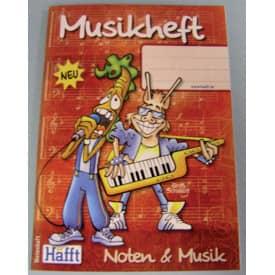 Notenheft A6 hoch HÄFFT 1671-2 Musik+Noten, 68S.