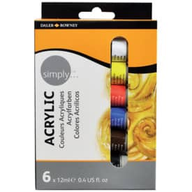 Acrylfarbe Simply 12ml 6er-Set