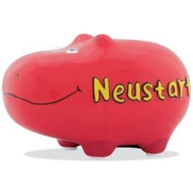 Spardose Hippo klein KCG 101569 Neustart