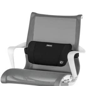 Rückenstütze Plush Touch schwarz FELLOWES 8026501 Produktbild Einzelbild 4 L