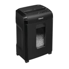 Aktenvernichter 10M schwarz FELLOWES FW4630601 Mikro-Partikel 2x12mm Produktbild