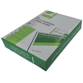 Kopierpapier A4 80g weiß Q-CONNECT KF01087 ECF 500Bl Produktbild