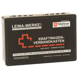 KFZ-Verbandkasten Standard schwarz LEINA 10007/235020  DIN13164 Produktbild