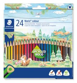 Farbstifte 24ST sortiert STAEDTLER 187 C24 Noris Colour Produktbild