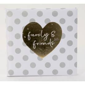 Gästebuch Hochzeit You & Me Forever GOLDBUCH 50 051 29x23cm