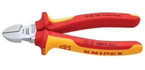 Seitenschneider 16cm rot/gelb KNIPEX 7006160/0302199 Produktbild
