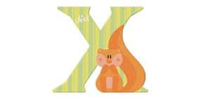 Tierbuchstaben 10cm Xero TRUDI SEVI 81624 Produktbild