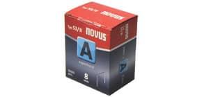 Heftklammern 53/8 verzinkt 5000St NOVUS 0420517 Superh.Sc Produktbild