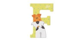 Tierbuchstaben 10cm Foxterrier TRUDI SEVI 83006/81606 Produktbild