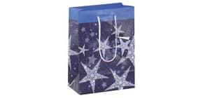 Weihnachts Geschenktragetasche SIGEL GT026 Small Shining Star Produktbild