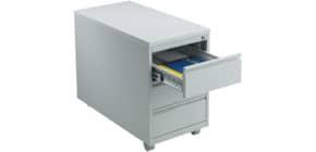 Rollcontainer 3 Laden h'grau CP 9-52210-00 Basic Produktbild