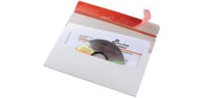 Versandtasche CD weiß COLOMPAC 30000250 125x223mm Produktbild