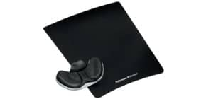 Mausmatte +Auflage schwarz FELLOWES FW9180301 Stoff Produktbild