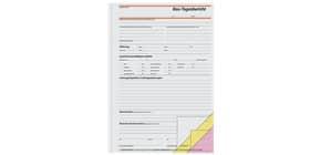 Bautagesbericht A4 hoch, 3x40 Blatt SIGEL SD063 selbstdurchschreibend Produktbild