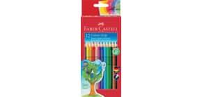 Farbstiftetui Grip 2001 12ST FABER CASTELL 112412 Produktbild