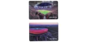 Brotzeitbrett Arena 2ST FCBAYERN 24922  17.5x14.5x5cm Produktbild